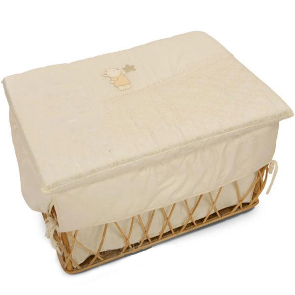 Плетеный ивовый ящик для игрушек Italbaby Angioletti.  Увеличенное фото.