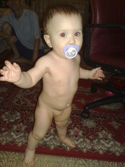 Голый малыш фото